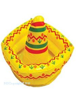 Inflatable Sombrero Drink Cooler 46cm x  30cm