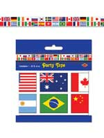 International Flag Party Tape