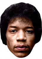 Jimi Hendrix Mask