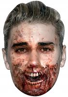 Justin Bieber Zombie - Cardboard Mask
