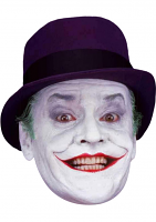 Jack Nicholson Joker Face Mask