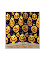 Jack-O-Lantern Backdrop 4' x 30'