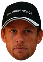 Jenson Button Cap Mask