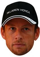 Jenson Button Cap Mask