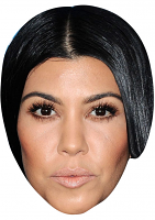 Kourtney Kardashian Mask