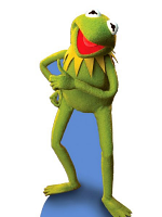 Kermit the Frog Cardboard Cutout