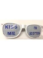 Kiss Me I'm Scottish Glasses