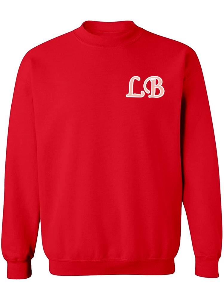 Custom Chenille Initial Sweatshirt/Hoodie