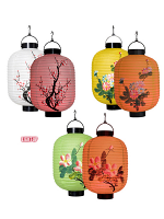 Led Light Oriental Lanterns