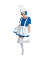 Lady Blue Garden Gnome Costume (1234)