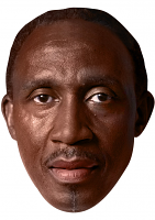 Linford Christie Mask
