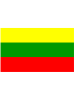 Lithuania Flag 5ft x 3ft  With Eyelets For Hanging
