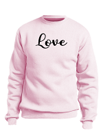 Custom Love Design Sweatshirt/Hoodie