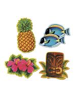 Luau Cardboard Cutout Decorations
