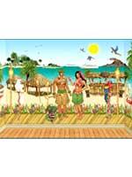 Luau - Hawaiian Instant Room Theme Set (61 Items)