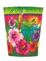Luau Paper Cups