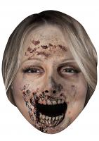 Mariah Carey Zombie - Cardboard Mask