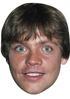 Mark Hamill mask (young)