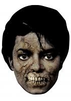 Michael Jackson Bad Zombie - Cardboard Mask
