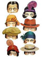 Roaring Twenties Eye Mask Assortment (8)