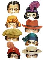 Roaring Twenties Eye Mask Assortment (8)