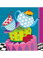 Mad Hatter Tea Party  Lunch Napkins