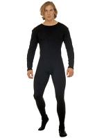 Man Bodysuit W/Sleeves Black