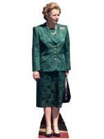 Margaret Thatcher (Conservative Party) Cardboard Cutout