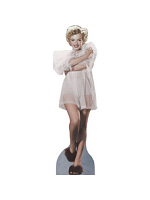 Marilyn Monroe In Nightgown Cardboard Cutout