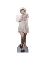 Marilyn Monroe In Nightgown Cardboard Cutout