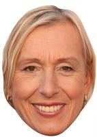 Martina Navratilova Mask
