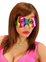 Metallic Rainbow Parade Eye Mask
