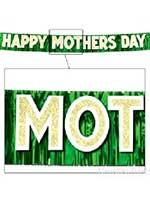 Metallic Happy Mother's Day Banner