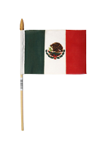 Mexico Hand Held Flag