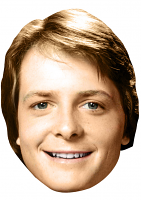 Michael j fox mask