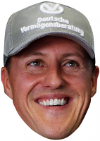 Michael Schumacher Cap Mask