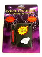 Microphone with Spooky Voice Changer