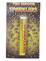 Mini Indoor Sparklers (20 in total)