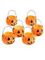 Mini Pumpkin Cauldron - Pack of 6