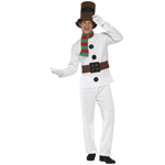 Mr Snowman Costume - White