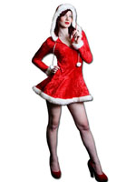 Mrs Christmas (Cut-out) - Lifesize Cardboard Cutout