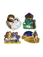 Nativity Cutouts 16""