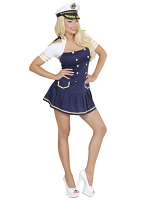 Navy Captain Girl (Dress Bolero)