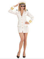 Navy Captain Woman (Dress Hat)