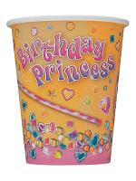 "New Pink Princess Cups 9"""