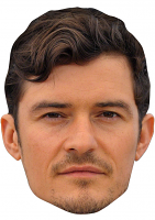 ORLANDO BLOOM MASK