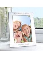 Personalised Silver 5x7 Photo Frame