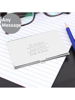 Personalised Classic Business Card Holder