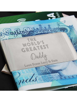 Personalised 'World's Greatest' Money Clip
