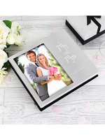 "Personalised Mr and Mrs 6""x4"" Photo Frame Album"